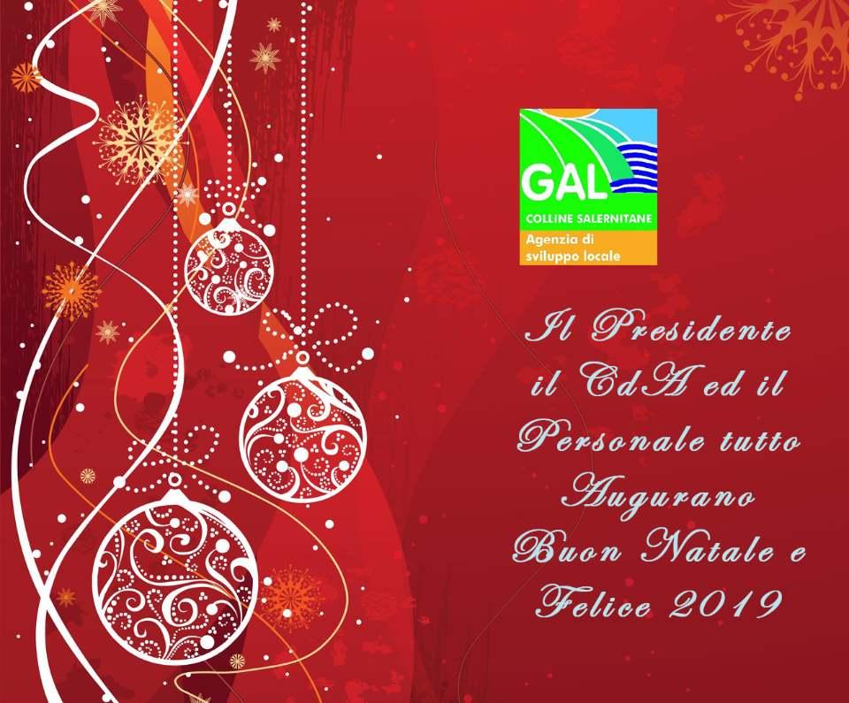 Buone Feste dal Gal Colline Salernitane